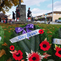 Ron Biggs Wreath