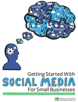 Getting Started With SOCIAL MEDIA For Small Businesses - Book Cover