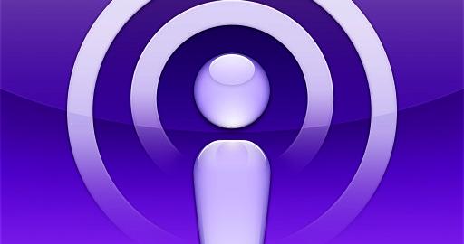 Apple Podcasting Logo