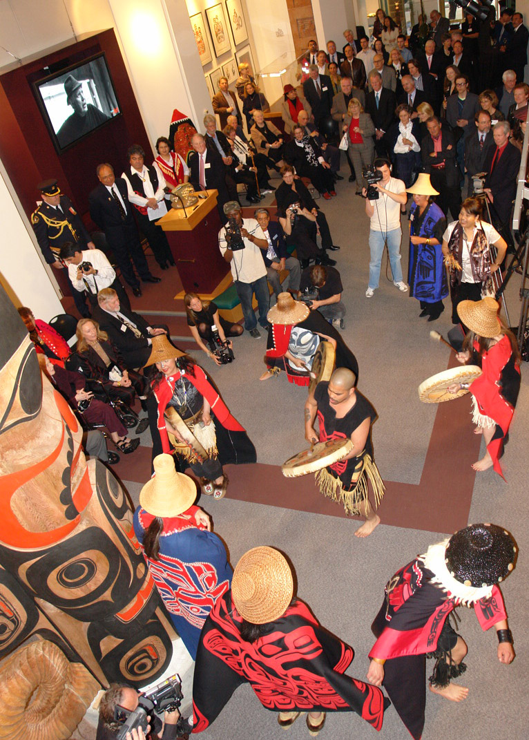 Celebration Dance at the opening of the Bill Reid Gallery