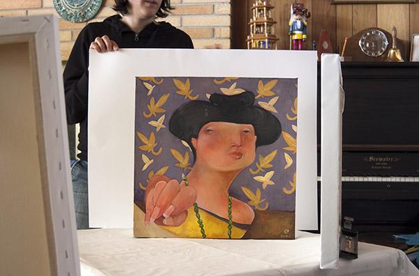 Jana Curll Art Work Reproduction Shoot