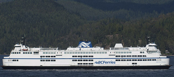 The Queen of Surrey a vessel of BC Ferries