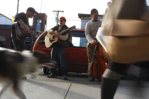 Buskers of Commercial Drive