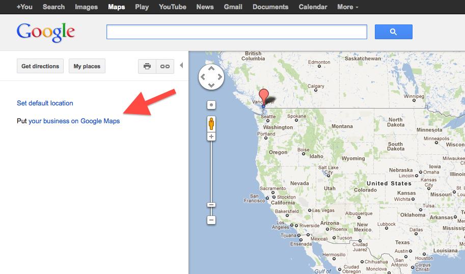 Proactive Google Maps Advertsing
