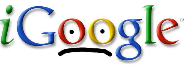 iGoogle Sad