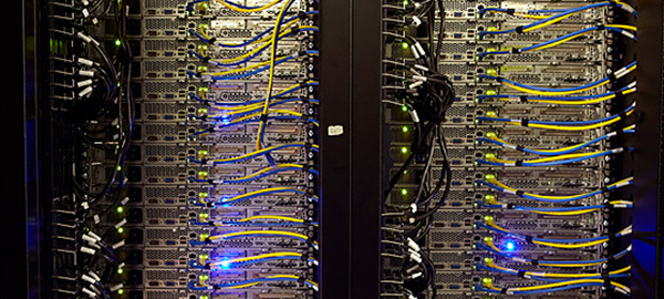 picture of racks web servers