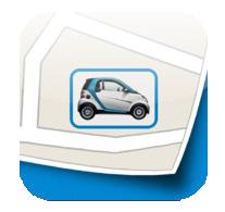 Logo of the Get2Car for Car2go service