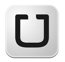 Logo of the Uber Car Service App