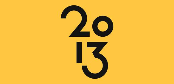 The Twenty Thirteen logo by Joen Asmussen designer of Twenty Thirteen theme